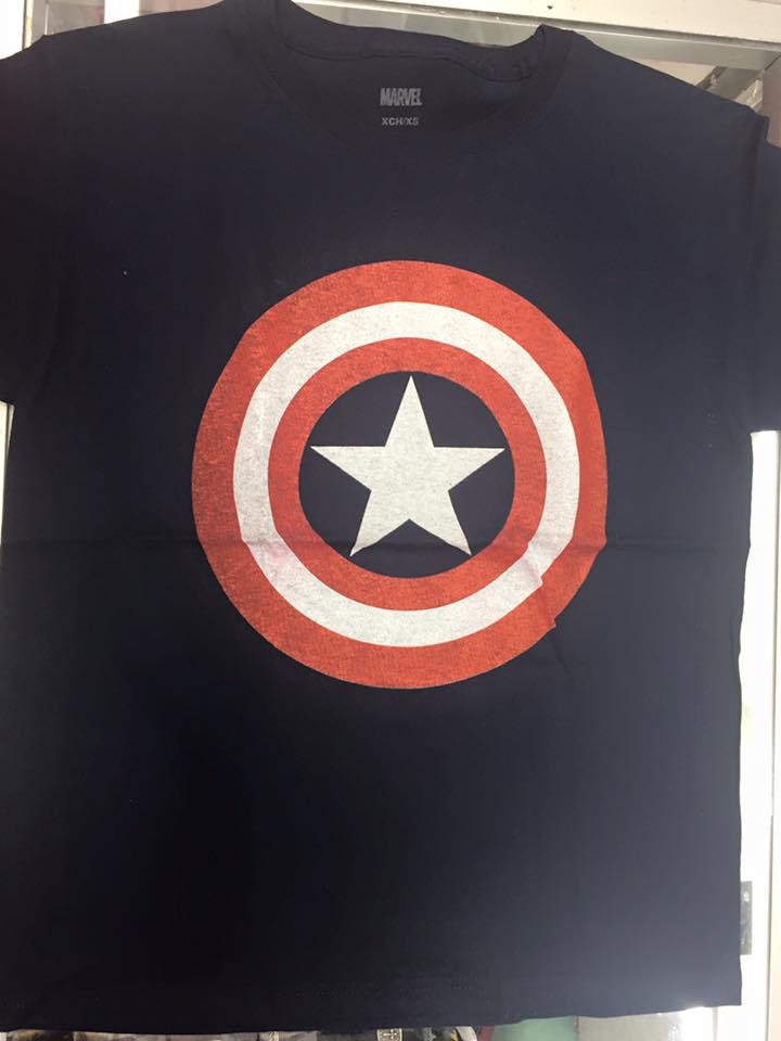 Playera Capitán América Logo – Mochilas en Monterrey 60c3ba6d04f4d